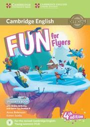 FUN FOR FLYERS STUDENT'S BOOK WITH ONLINE ACTIVITIES WITH AUDIO AND HOME FUN BOO | 9781316617588 | ROBINSON, ANNE/SAXBY, KAREN | Llibreria Aqualata | Comprar llibres en català i castellà online | Comprar llibres Igualada